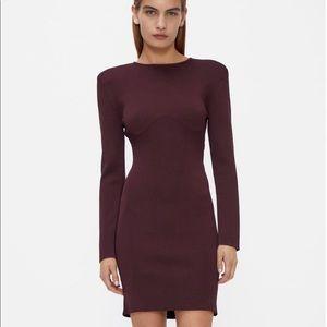 ZARA knit mini dress